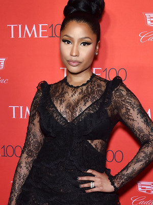 "Nicki Minaj Shows Serious Skin at Time 100 Gala -- And Dedicates ""Anaconda"" to Donald…"