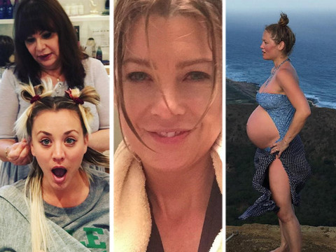 See Who Got a New 'Do & Who's Rocking a Big Baby Bump In This Week's Best Celeb Selfies!