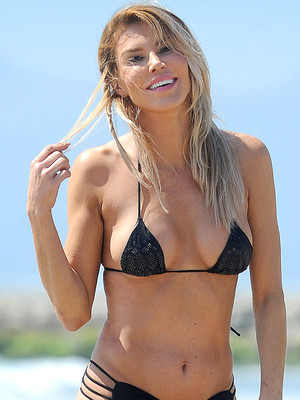 Brandi Glanville Shows Serious Skin In a Tiny Black Bikini -- As She Says She's Dating an…