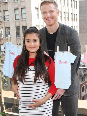 """The Bachelor's"" Sean & Catherine Are Picture Perfect at NYC Baby Shower!"