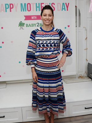 Jessica Biel Shows Off Her Mother's Day Style -- But Are You Feeling This Look?