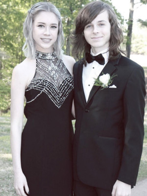 """The Walking Dead's"" Chandler Riggs Shares Adorable Photo from His Prom!"