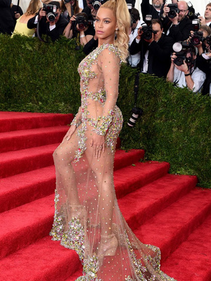Remember When Beyonce & J.Lo Were Almost Naked at Last Year's Met Gala? Relive It…