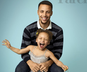 "Stephen Curry's Kids Make Their Adorable Magazine Debut: Riley Is the ""Star"" Of Our Family"