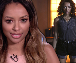 "Kat Graham Talks Busting Her Butt for Final ""Vampire Diaries"" Episodes"