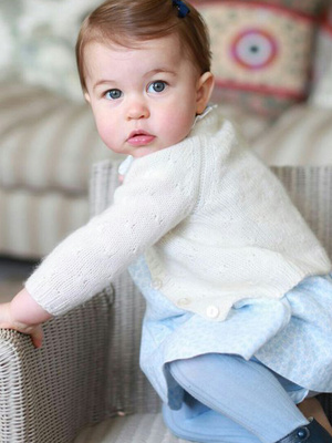 See How Big Princess Charlotte Is In New Pics Taken by Kate Middleton -- Ahead of First…