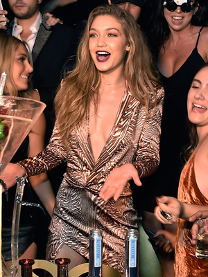 Gigi Hadid's 21st Birthday Celebrations Roll On -- See Her Celebrate In Las Vegas!