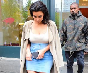 Kim Kardashian's Denim Skirt -- Fab or Drab?