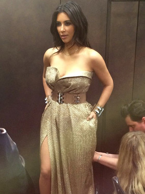 See the Dress Kim Kardashian Almost Wore to the Met Gala In 2014 -- And What She Went…
