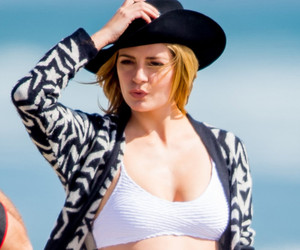 "Mischa Barton Flaunts Bikini Bod on the Beach After ""Dancing with the Stars"" Elimination"