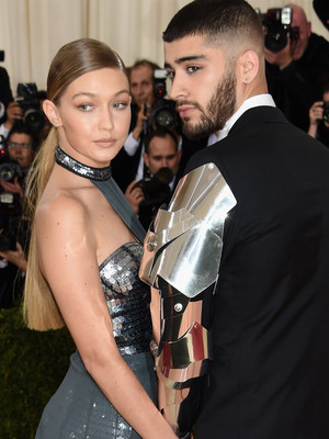 Gigi Hadid and Zayn Malik Make Their Red Carpet Debut at the Met Gala