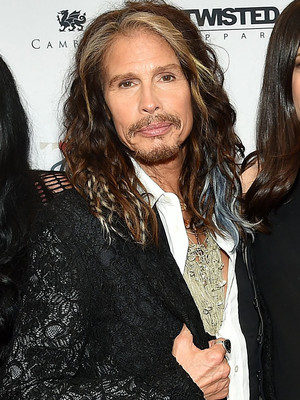 Steven Tyler Hits The Red Carpet With All Four of His Kids -- Including Rarely-Seen Son