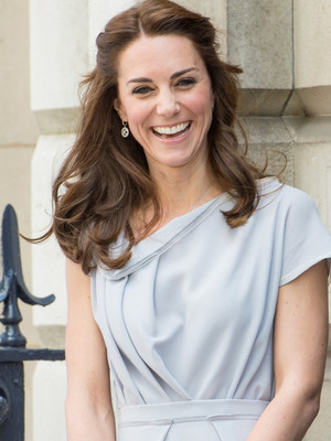 Kate Middleton Is Flawless In Grey -- See More of Her Royal Style!