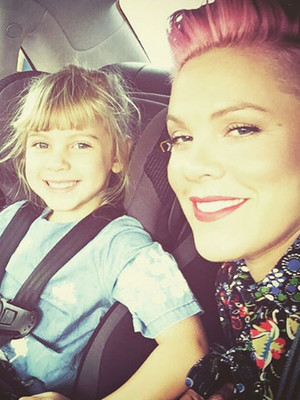 P!nk Shares Adorable Photo of Daughter Willow -- See How Big She Is Now!