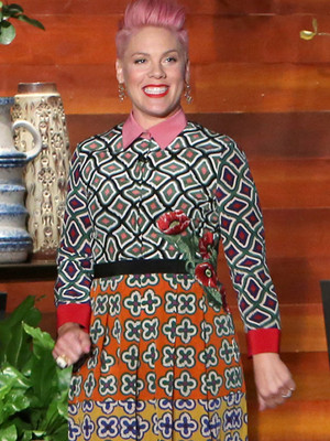 """P!nk Says She and Carey Hart Are """"Due"""" for Third Break In 10 Years"""