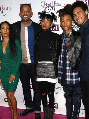 "It's a Smith Family Affair at ""Dear Mama"" Taping -- See Will & Jada's Kids Now!"