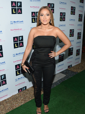 Adrienne Bailon Shows Off Her Backside -- But Is This Sheer Look Fab or Drab?