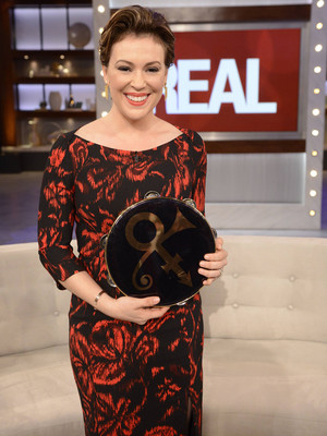Alyssa Milano Reveals the Amazing Gift She Got From Prince for Her Son Milo