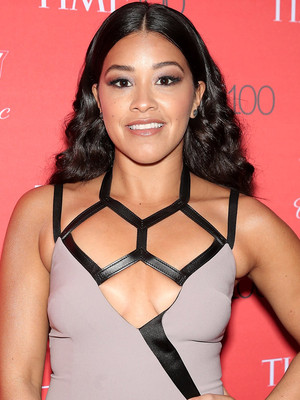 Gina Rodriguez Chopped Off Her Hair and Shaved the Sides of Her Head -- See Her Edgy 'Do!