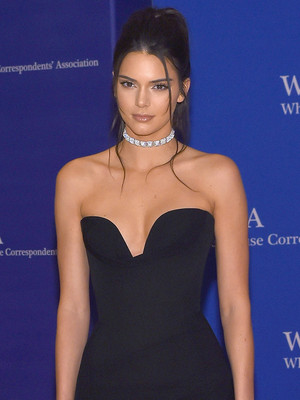 Kendall Jenner Sports Same Diamond Choker as Britney Spears ... 14 Years Later!
