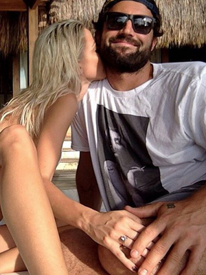 Brody Jenner Engaged to Kaitlynn Carter -- Check Out the First Photo of the Ring!