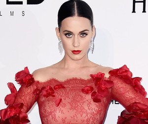 Katy Perry Looks Fierce in Red at amfAR's AIDS Gala in Cannes -- Like the Look?!