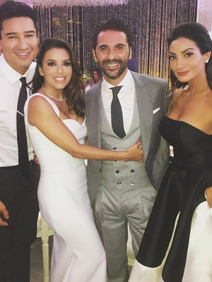 Inside Eva Longoria's Wedding -- See All the Festive Photos!