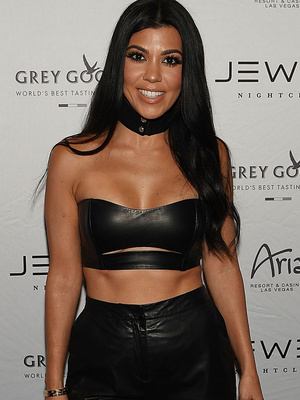 Kourtney Kardashian Shows Serious Skin, Tight Abs on Girls Night Out In Vegas