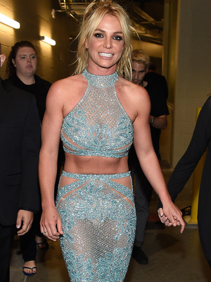 Britney Changes Into Another Totally See-Through Gown at #BBMAs -- Is It Fab or Drab?