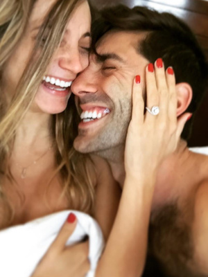 Nev Schulman & Pregnant Girlfriend Laura Perlongo Are Engaged -- See Unusual…