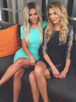 Brandi Glanville & Aubrey O'Day Play Never Have I Ever -- Talk Plastic Surgery,…