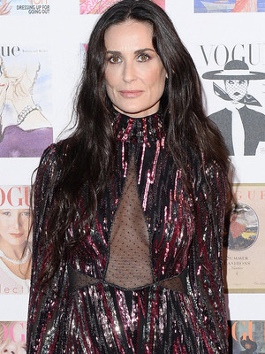 Demi Moore Channels Cher at Vogue 100 Gala -- Is the Look Fab or Drab?