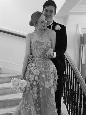 Elle Fanning Recreates Her Senior Prom Night In Cannes -- See the Adorable Photo!