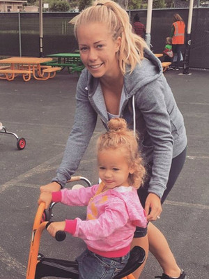 Kendra Wilkinson Brings Mini-Me Alijah to Her First Day of Pre-School -- She's SO Cute!