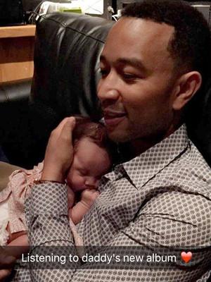 John Legend & Chrissy Teigen's Baby Girl Loves Listening to Her Daddy's Music