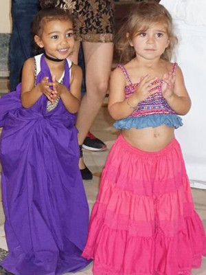 This Pic of North West & Penelope Disick Salsa Dancing Will Brighten Your Day!