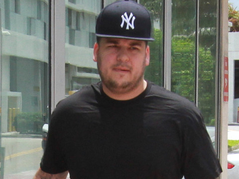 "Rob Kardashian Thrilled with Weight Loss -- But Says He's Still ""Got a Lot of Work to Do"""