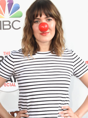 Mandy, Malin & More Stars Attend The Red Nose Day Special on NBC
