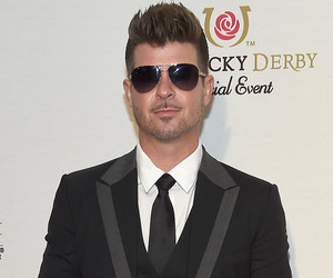 Robin Thicke Shares New Snap of Adorable Son Julian Fuego -- See How Big He is Now!