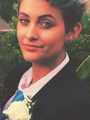 Paris Jackson Goes to Prom, Dyes Hair to Match Her Prom Date!