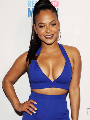 Christina Milian Shows Major Skin in Bold Jumpsuit -- Is This Look Fab or Drab?