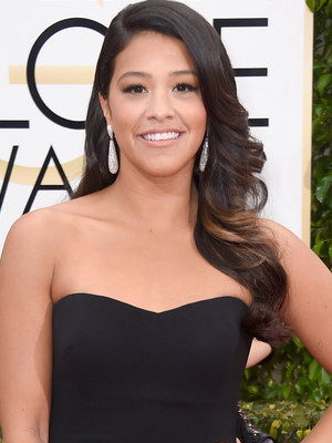 High School Student Wears Gina Rodriguez's Golden Globes Dress to Prom -- See the Pic!