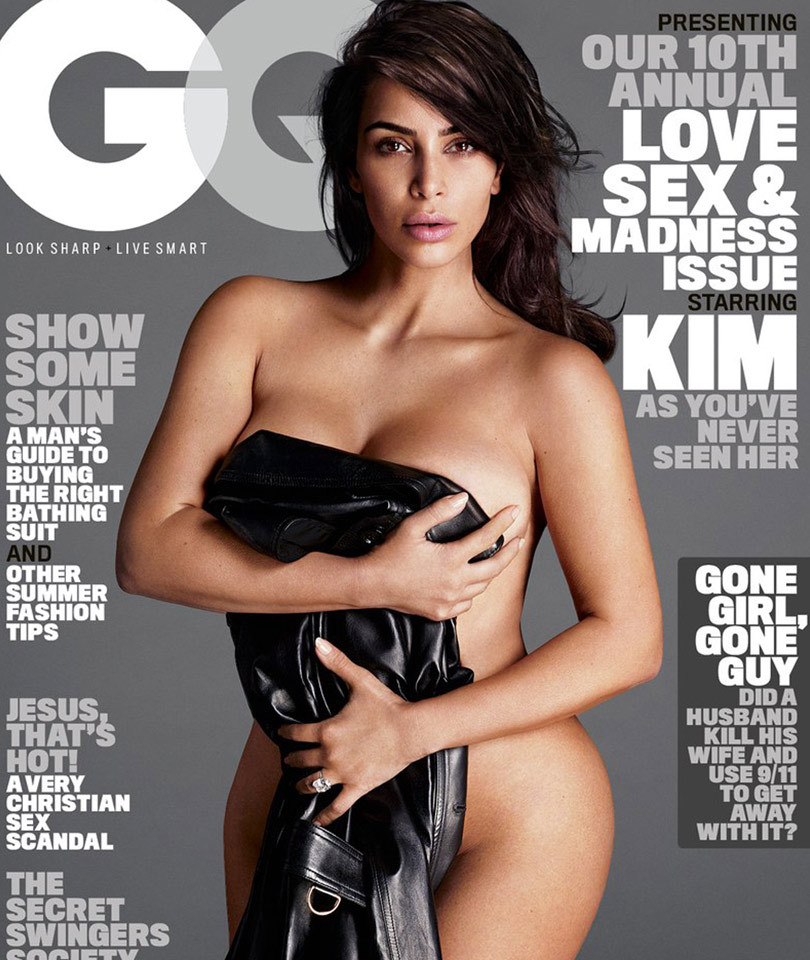 "Kim Kardashian Calls Taylor Swift a Liar In GQ, Says Family Is ""All On Board"" with Blac Chyna"