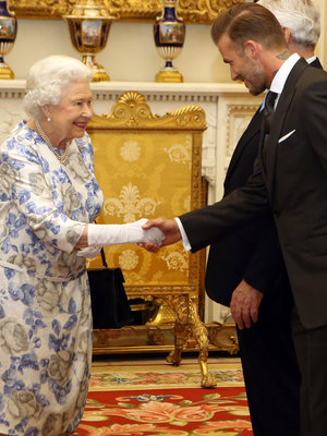 David Beckham Meets The Queen & More Hot Photos