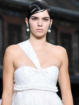 Is This a Makeover or Makeunder? Check Out Kendall's Givenchy Runway Look!