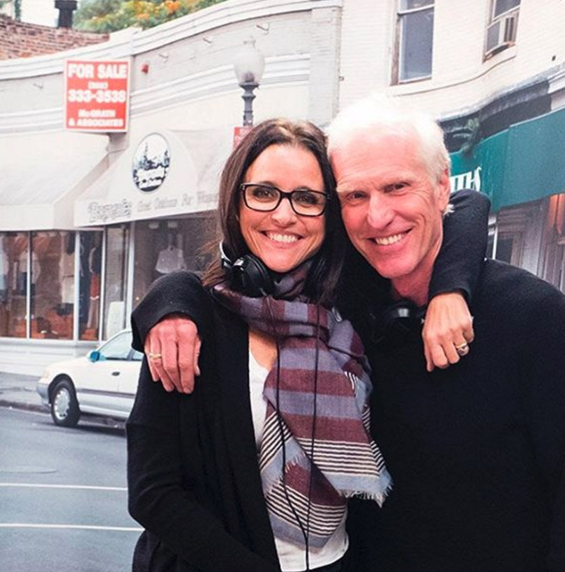 Julia Louis Dreyfus Husband: See Julia Louis-Dreyfus' Awesomely '80s Wedding Dress In