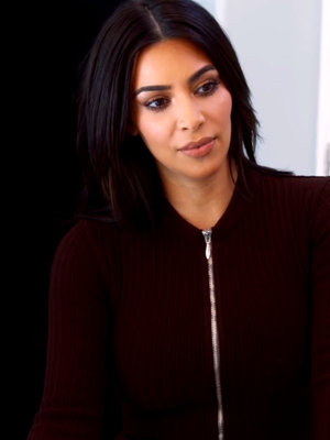 "Kim Kardashian Warns Kris & Scott About Kanye's ""Famous"" Video -- Throws Shade at Swift Again!"