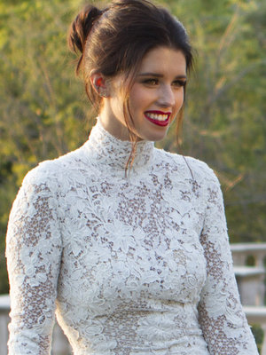 Katherine Schwarzenegger Stuns In Wedding Dress for First Major Modeling Gig