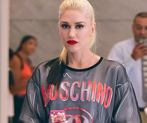 Gwen Stefani Ditches Her Pants & Rocks Fishnets -- Like the Look?!