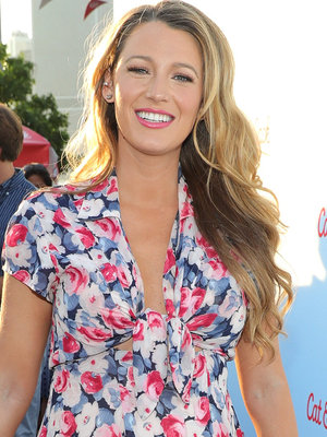 Blake Lively Shows Off Baby Bump at Target Cat & Jack Launch Celebration